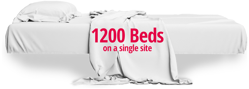 1200 Beds in Dormitory Munich